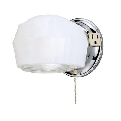 pull chain wall light photo - 2