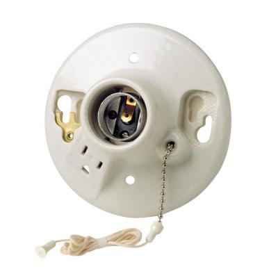 pull chain wall light fixture photo - 5