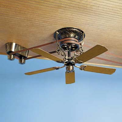 pulley ceiling fans photo - 2