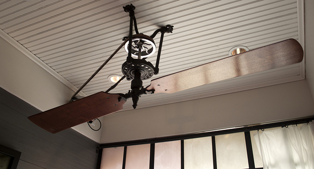 pulley ceiling fans photo - 6