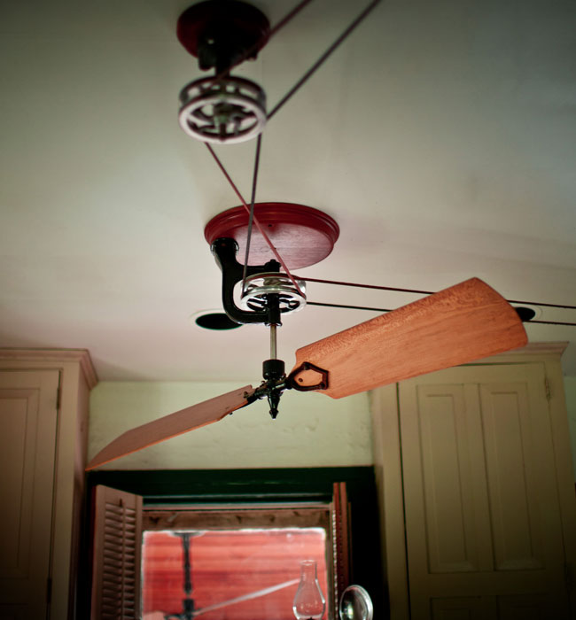 pulley ceiling fans photo - 9