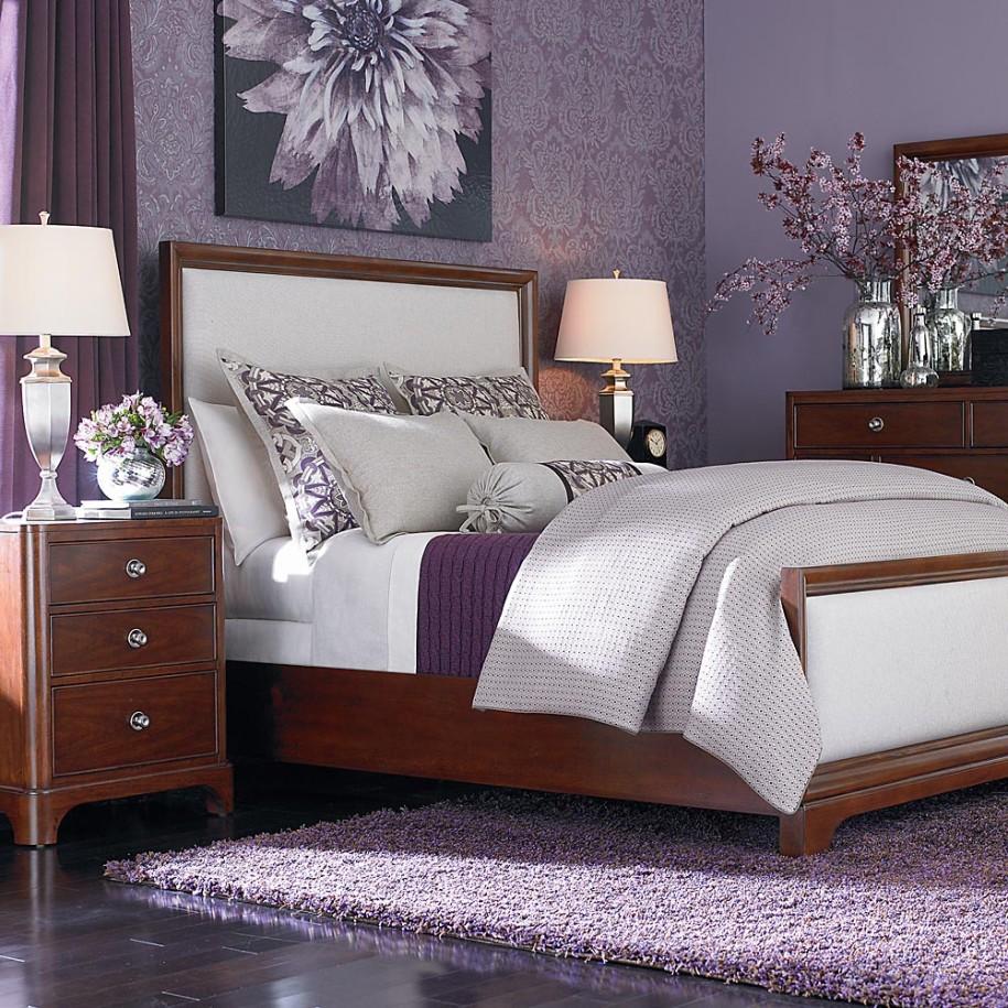 Purple Bedroom Lamps Purple Bedside Lamps Warisan Lighting