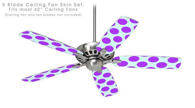 purple ceiling fan photo - 9