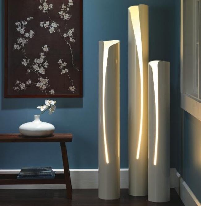 pvc pipe lamp photo - 10