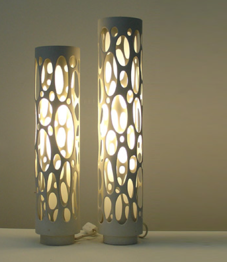 pvc pipe lamp photo - 5