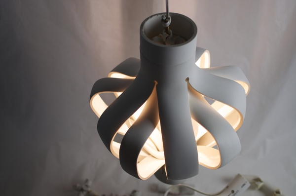pvc pipe lamp photo - 7