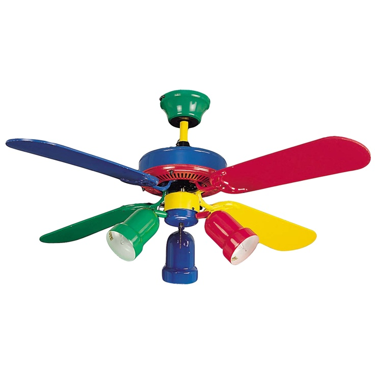 rainbow ceiling fan photo - 1