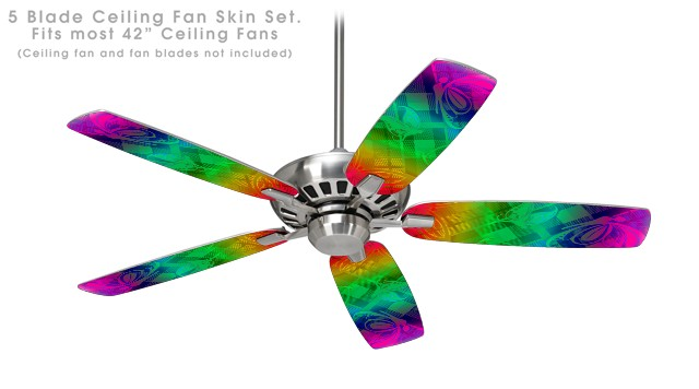 rainbow ceiling fan photo - 10