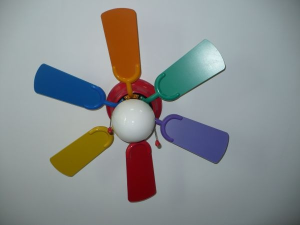 rainbow ceiling fan photo - 4