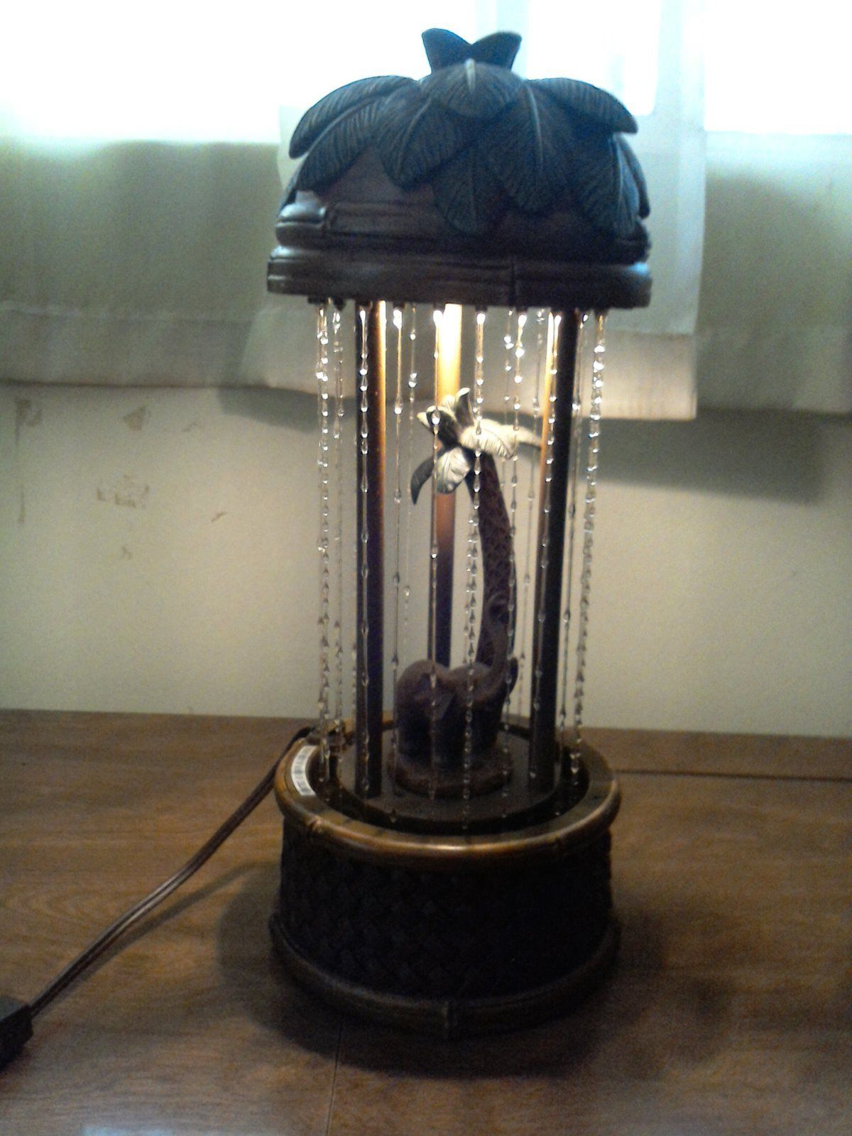raining oil lamp photo - 4