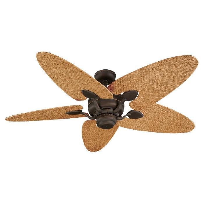 rattan ceiling fans photo - 1