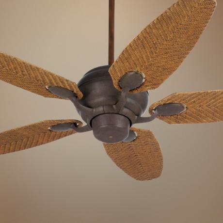 rattan ceiling fans photo - 3
