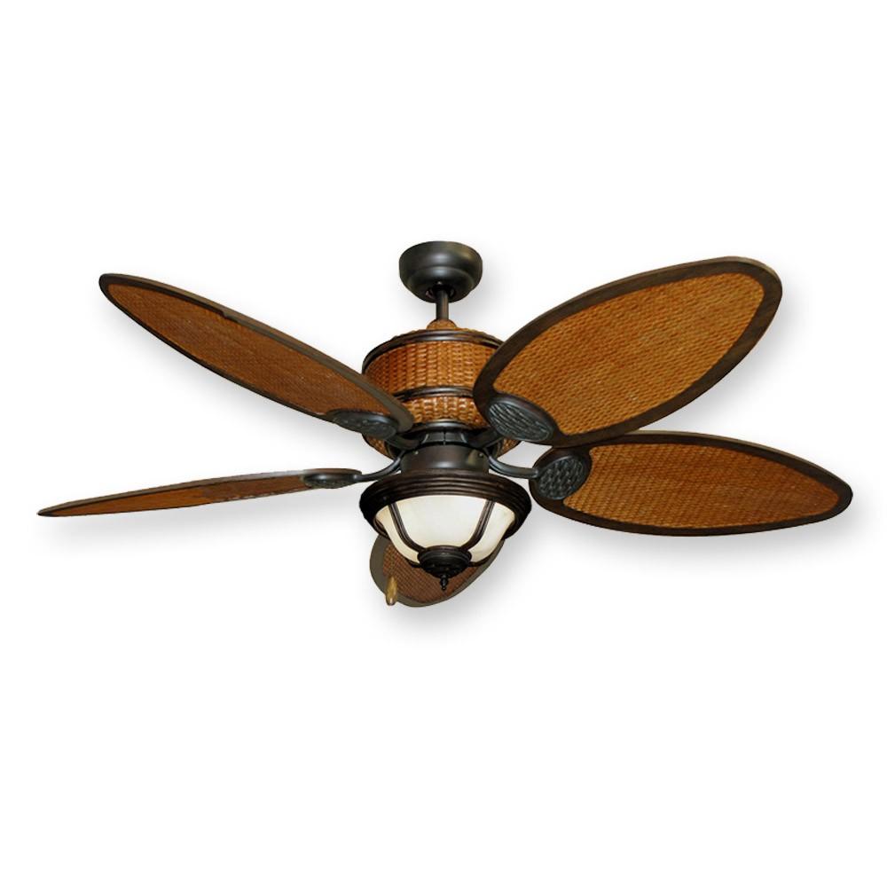 rattan ceiling fans photo - 7