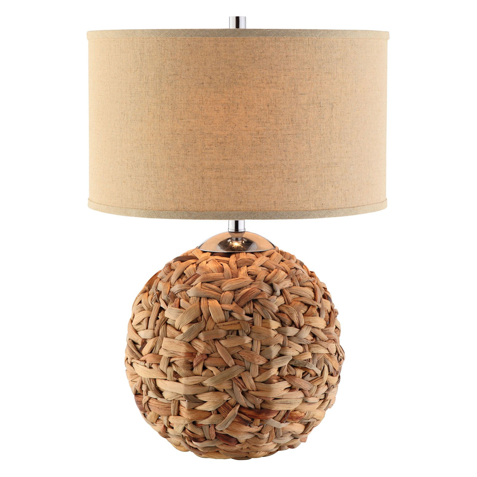 rattan table lamps photo - 3