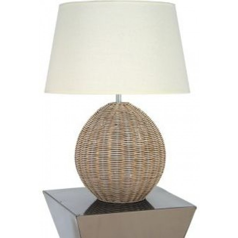 rattan table lamps photo - 6