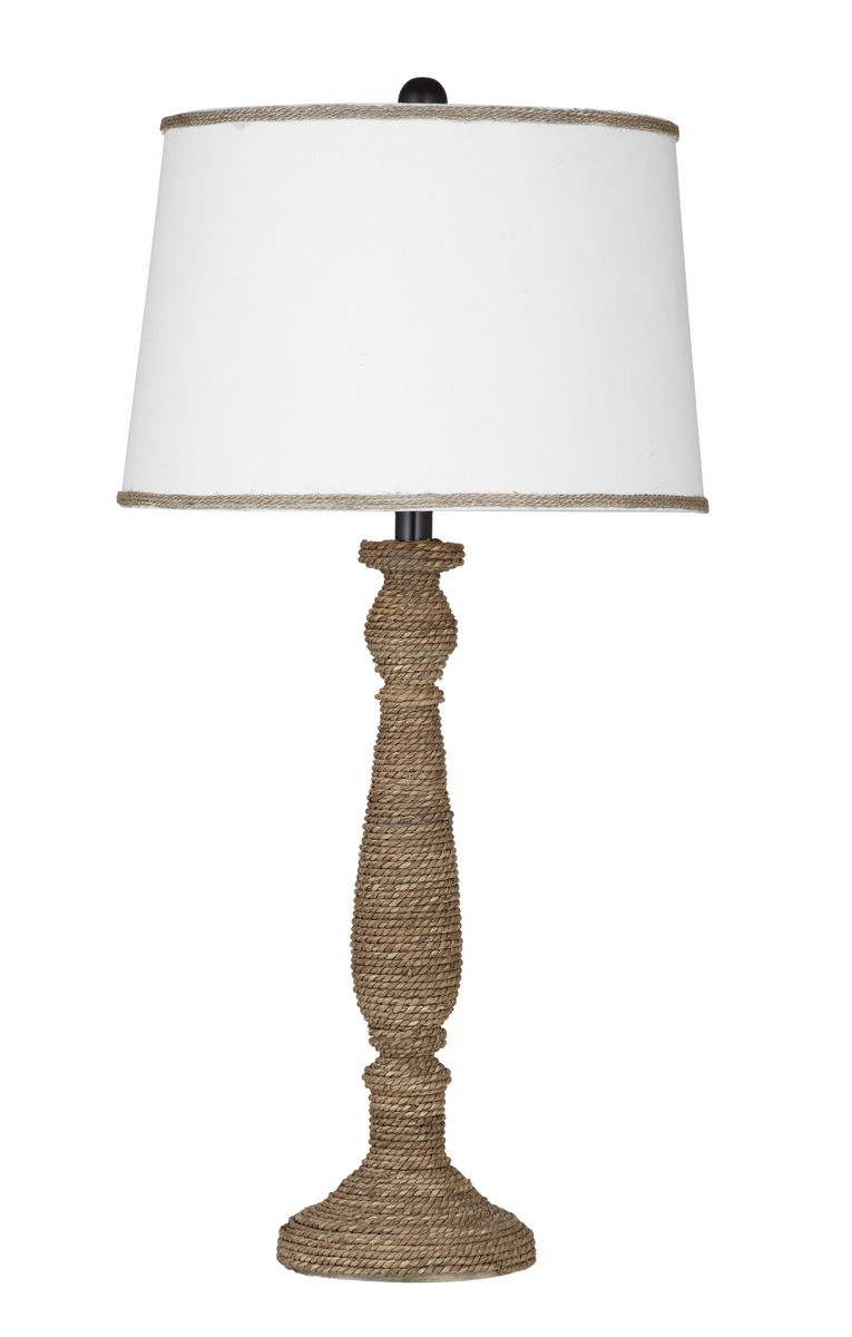 rattan table lamps photo - 9
