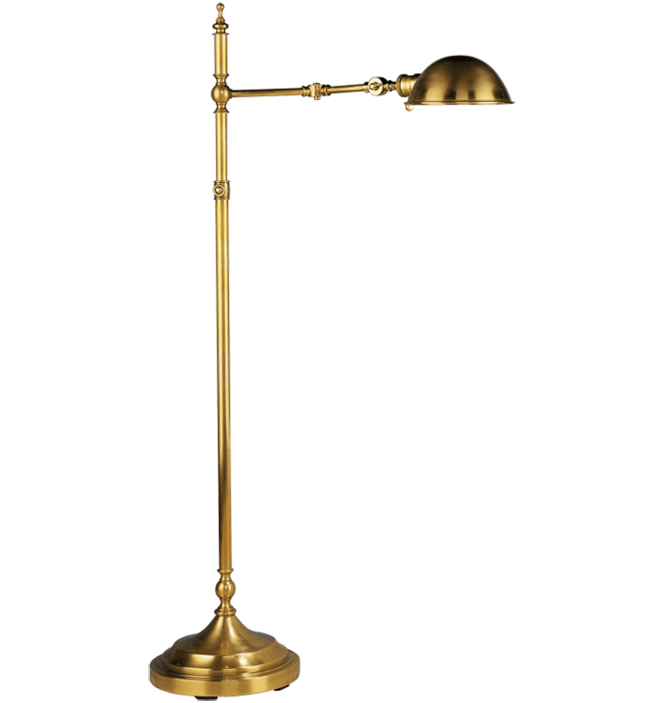 Reading floor lamps adjustable 10 tips for choosing for Classic floor reading lamp