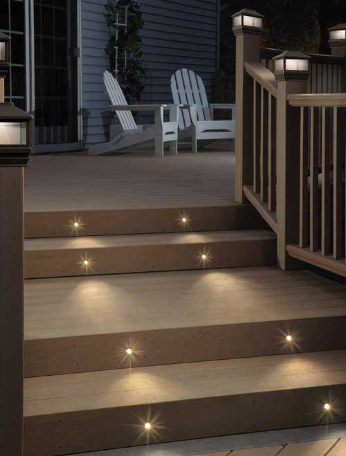 recessed external wall lights photo - 7
