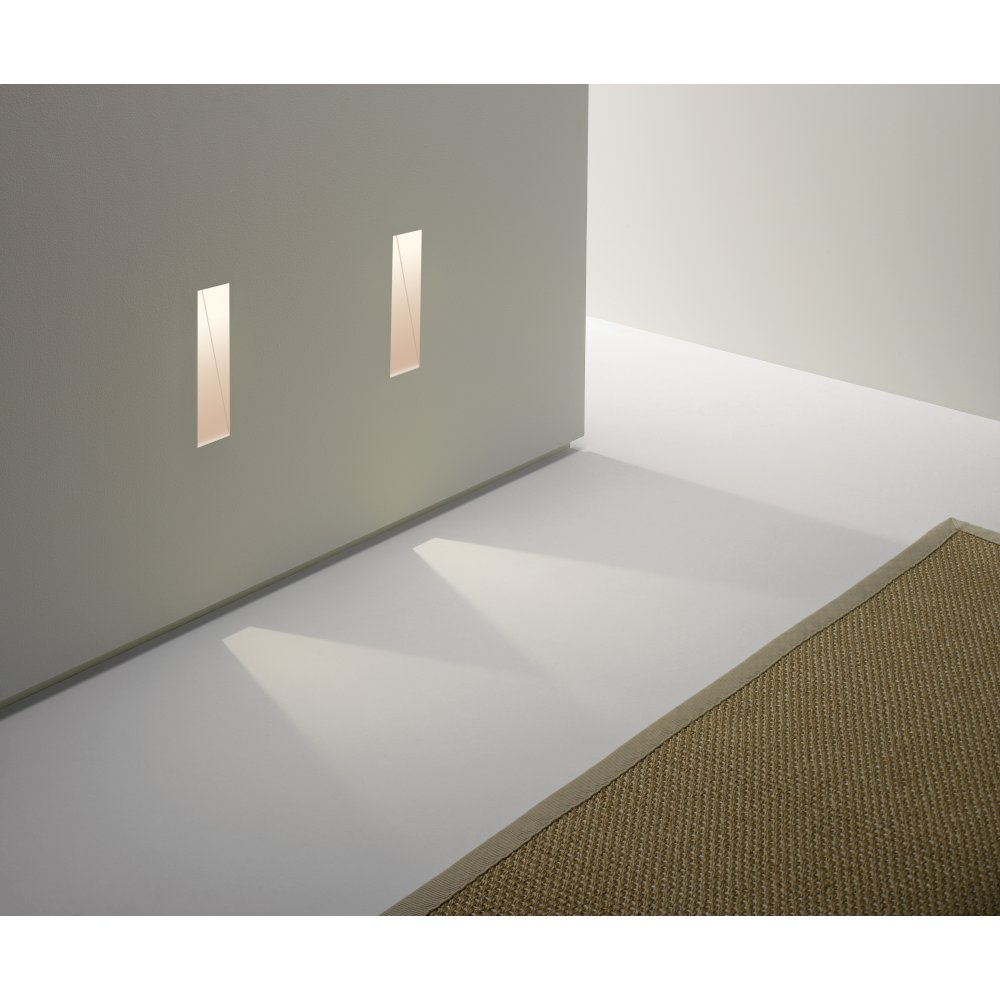 recessed led wall lights photo - 2