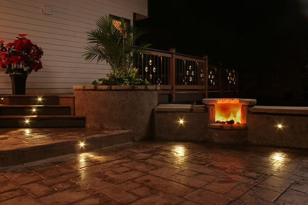 recessed outdoor wall lights photo - 3