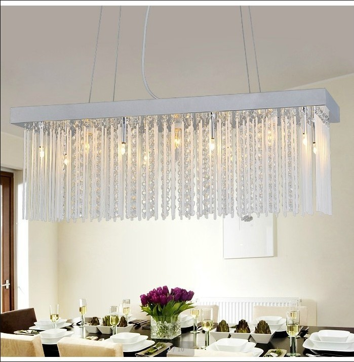 Crystal Chandelier Dining Room