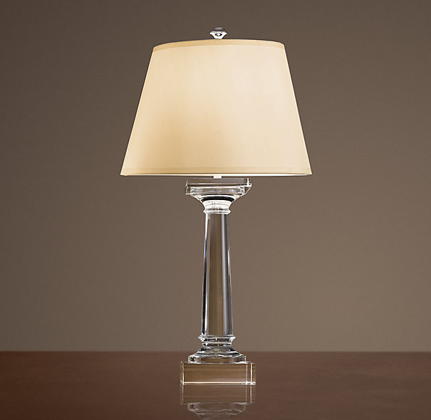 restoration hardware table lamps photo - 1