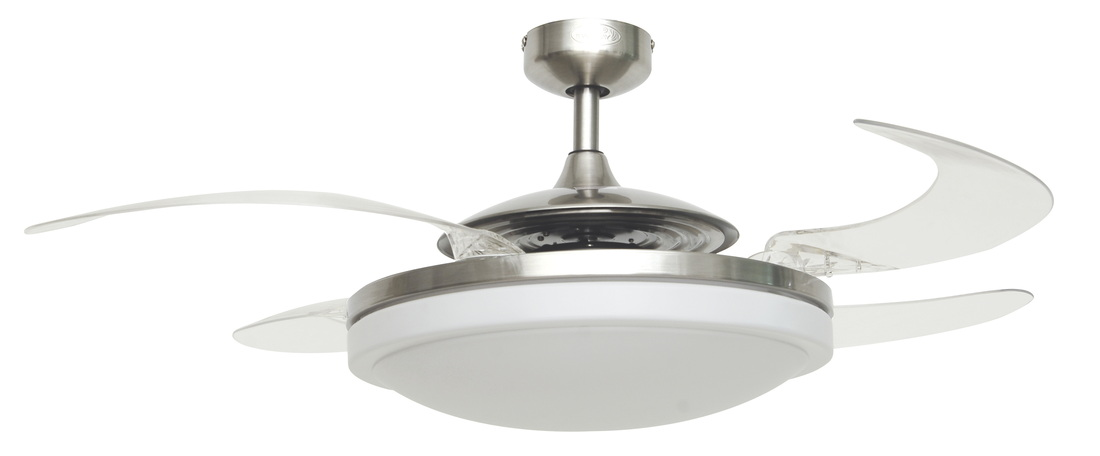retractable blade ceiling fans photo - 9
