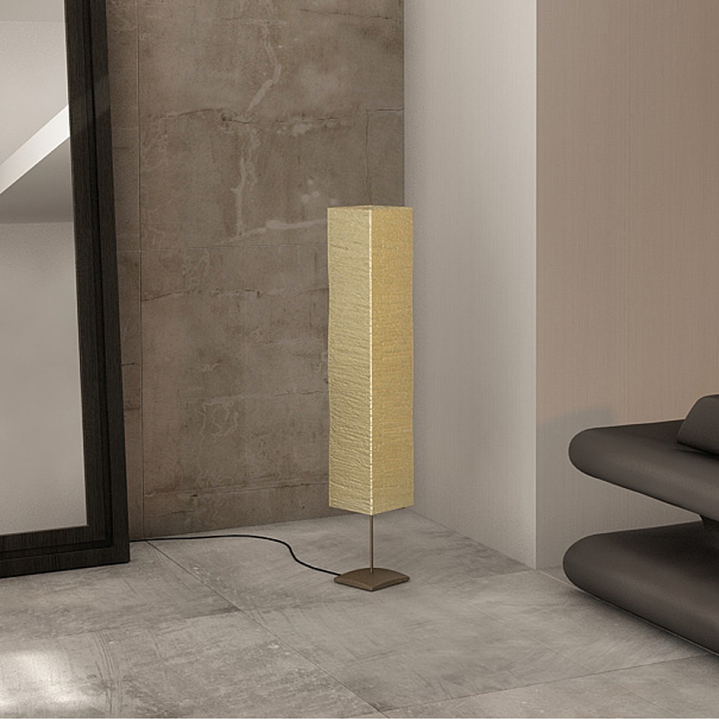 rice paper floor lamps photo - 3