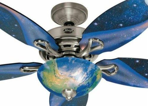 rocket ship ceiling fan photo - 6