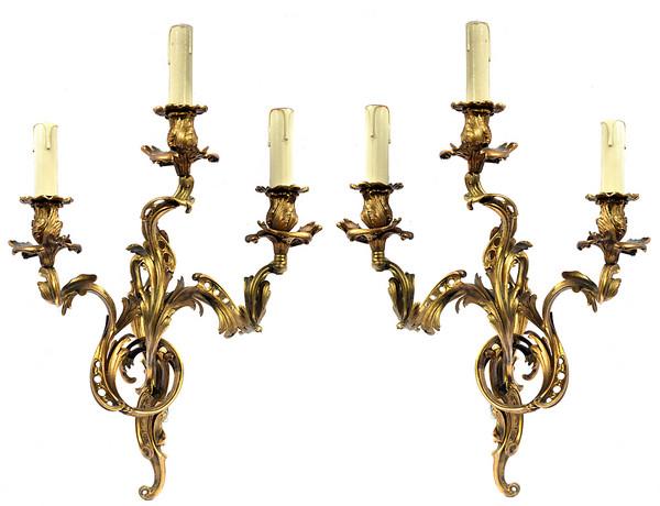 Appropriate rococo wall lights for your room warisan lighting rococo wall lights photo 6 aloadofball Gallery
