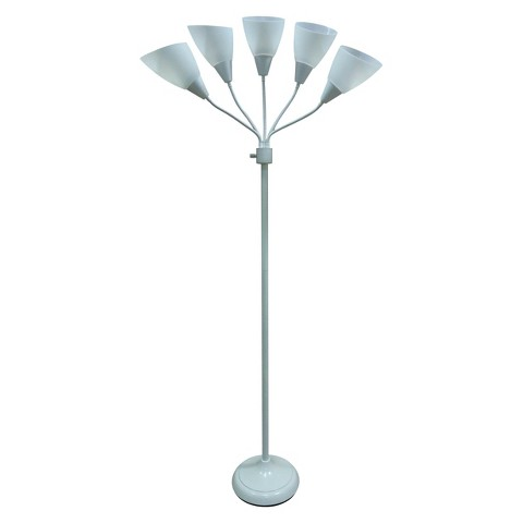 Learn More About Room Essentials 5 Head Floor Lamp Warisan Lighting