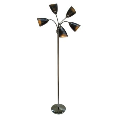 room essentials 5 head floor lamp photo - 7