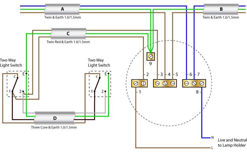 rose ceiling light 10 light switch wiring diagram readingrat net,Wiring Diagram Of 2 Way Light Switch