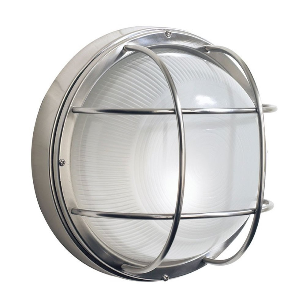 round outdoor lights photo - 10