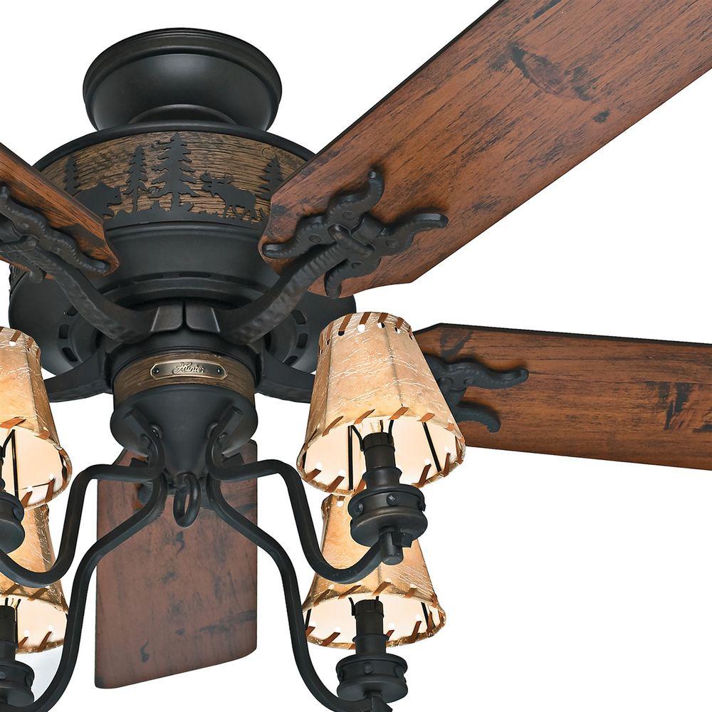 Rustic Cabin Ceiling Fans: rustic cabin ceiling fans photo - 8,Lighting