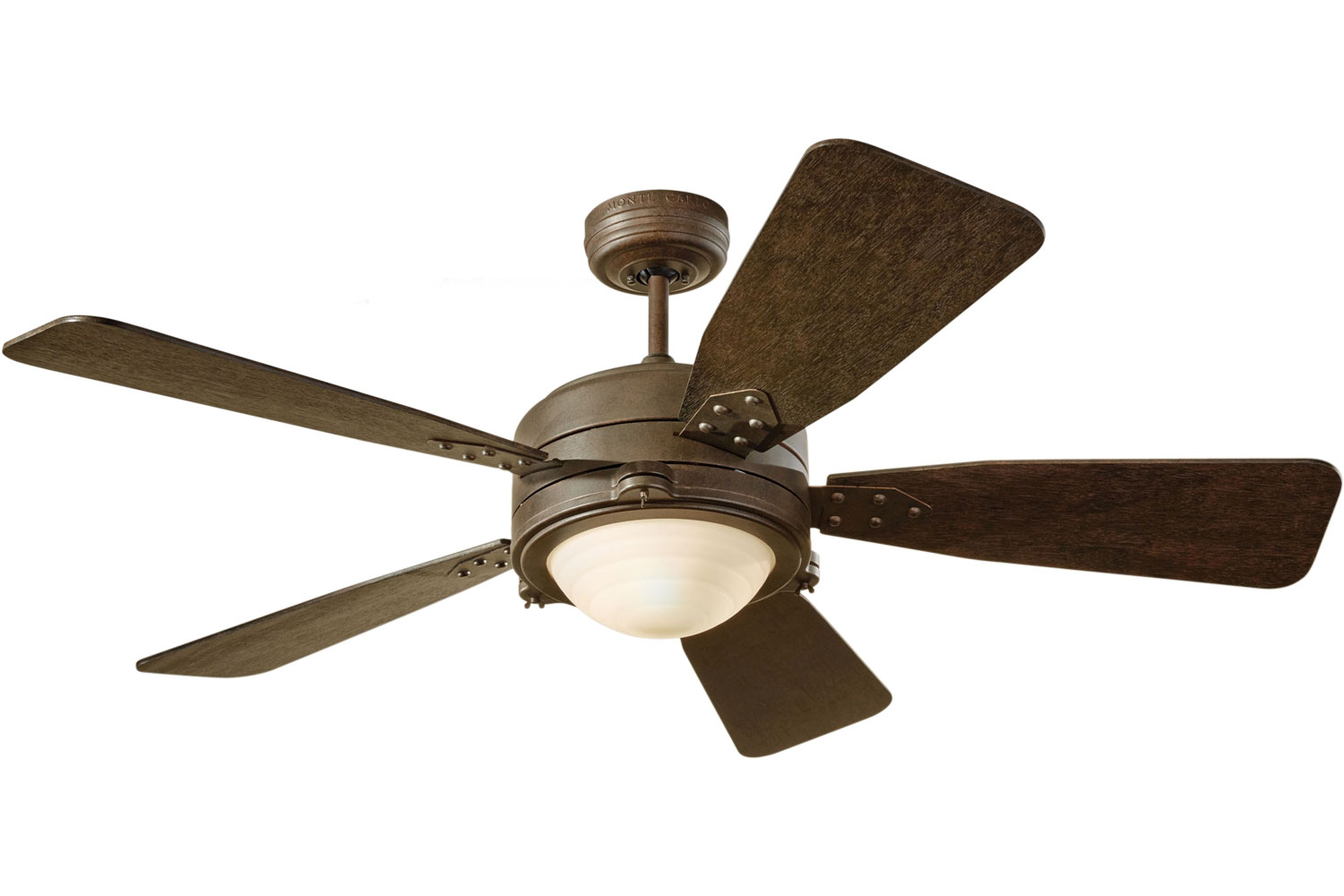 rustic ceiling fans photo - 1