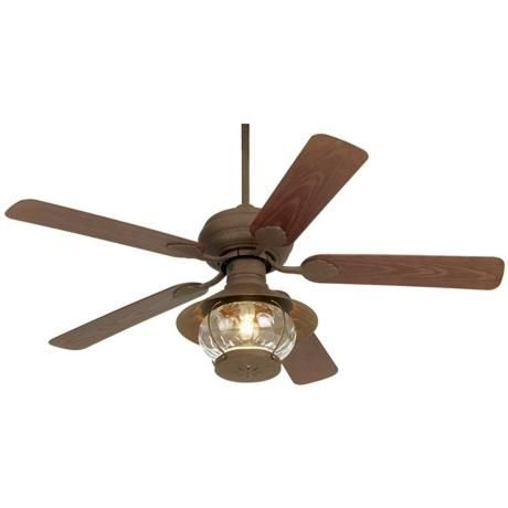 rustic ceiling fans photo - 2