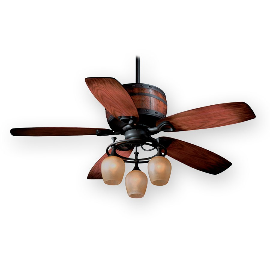 rustic ceiling fans photo - 3