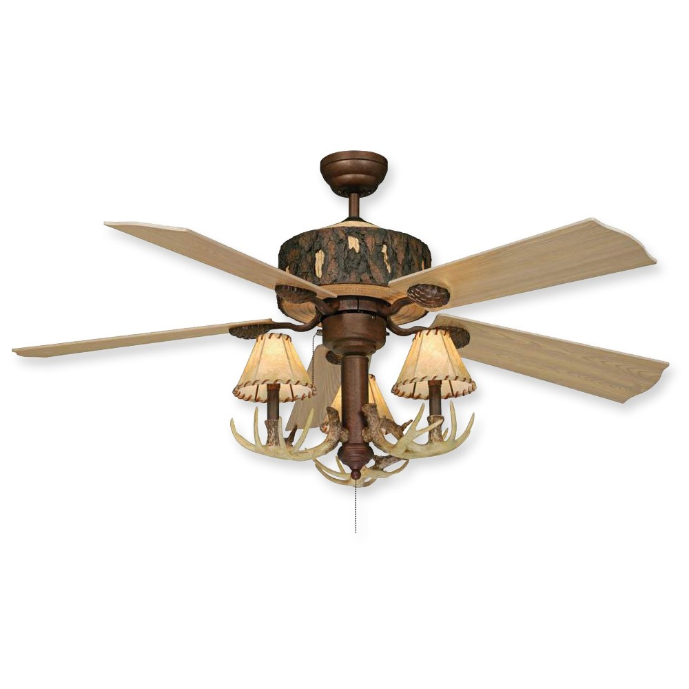 rustic ceiling fans photo - 4