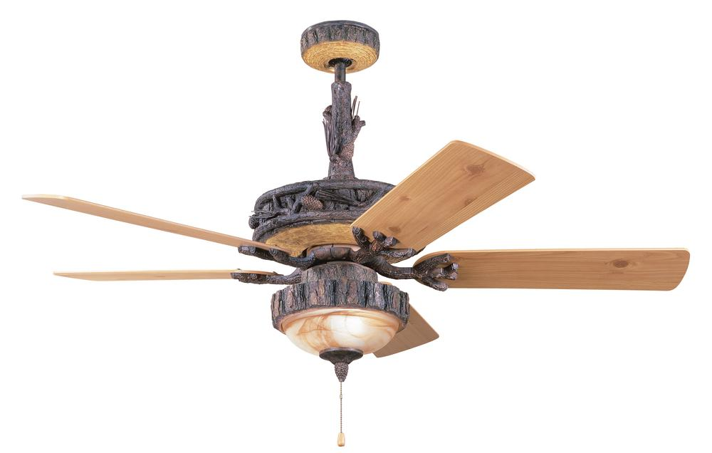 rustic ceiling fans photo - 7