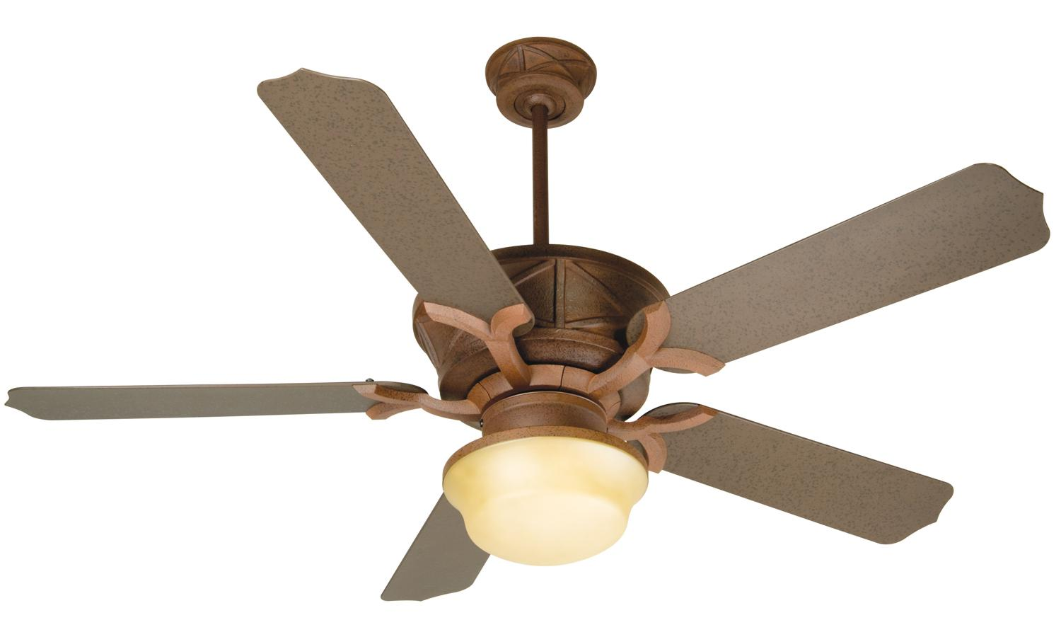 rustic ceiling fans photo - 9