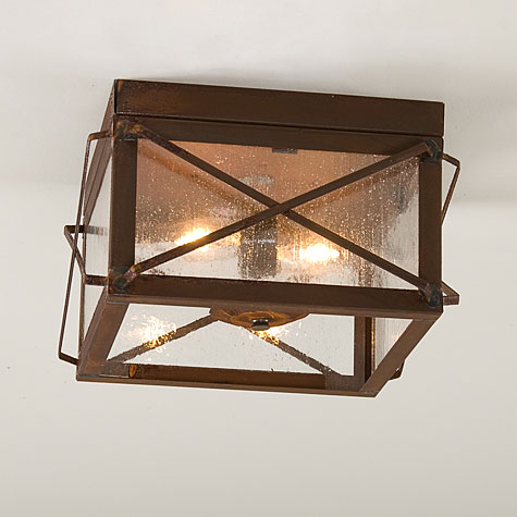 rustic ceiling lights photo - 1