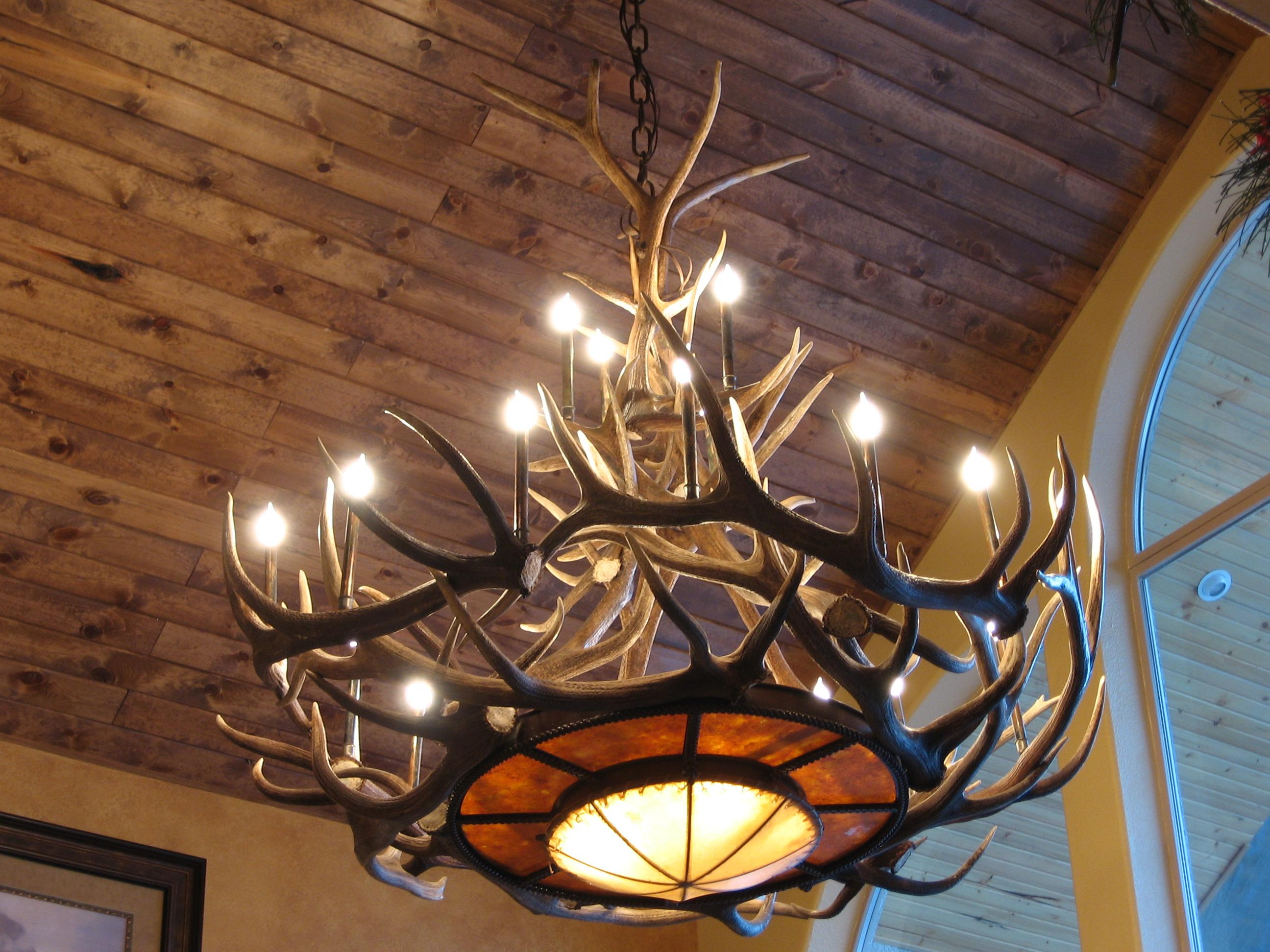 rustic ceiling lights photo - 8