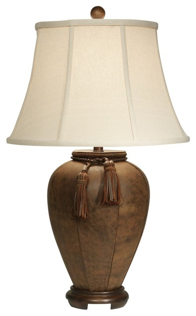 rustic wood lamps photo - 6
