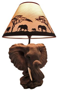 safari lamps photo - 6