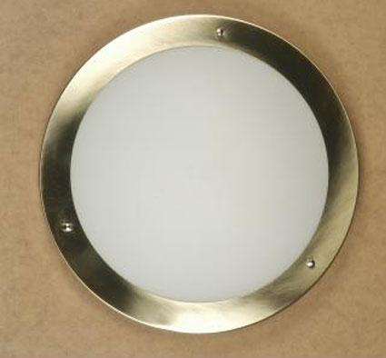 satin chrome ceiling lights photo - 1