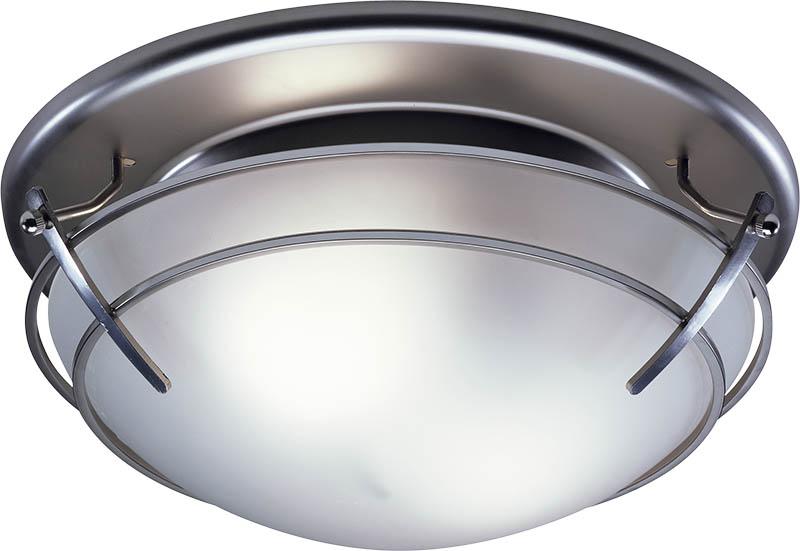 satin chrome ceiling lights photo - 2