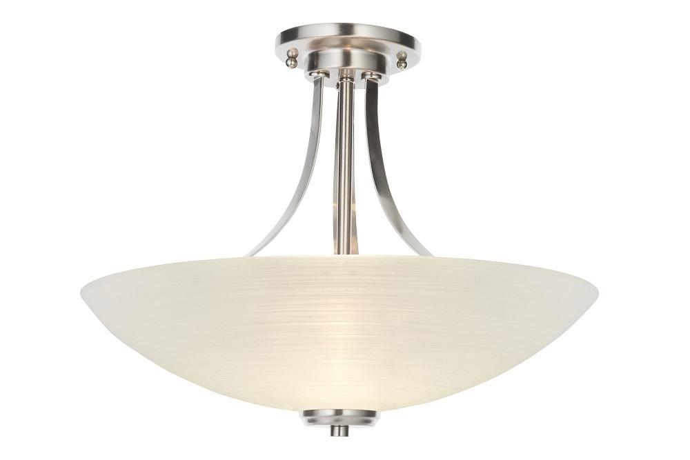 satin chrome ceiling lights photo - 4