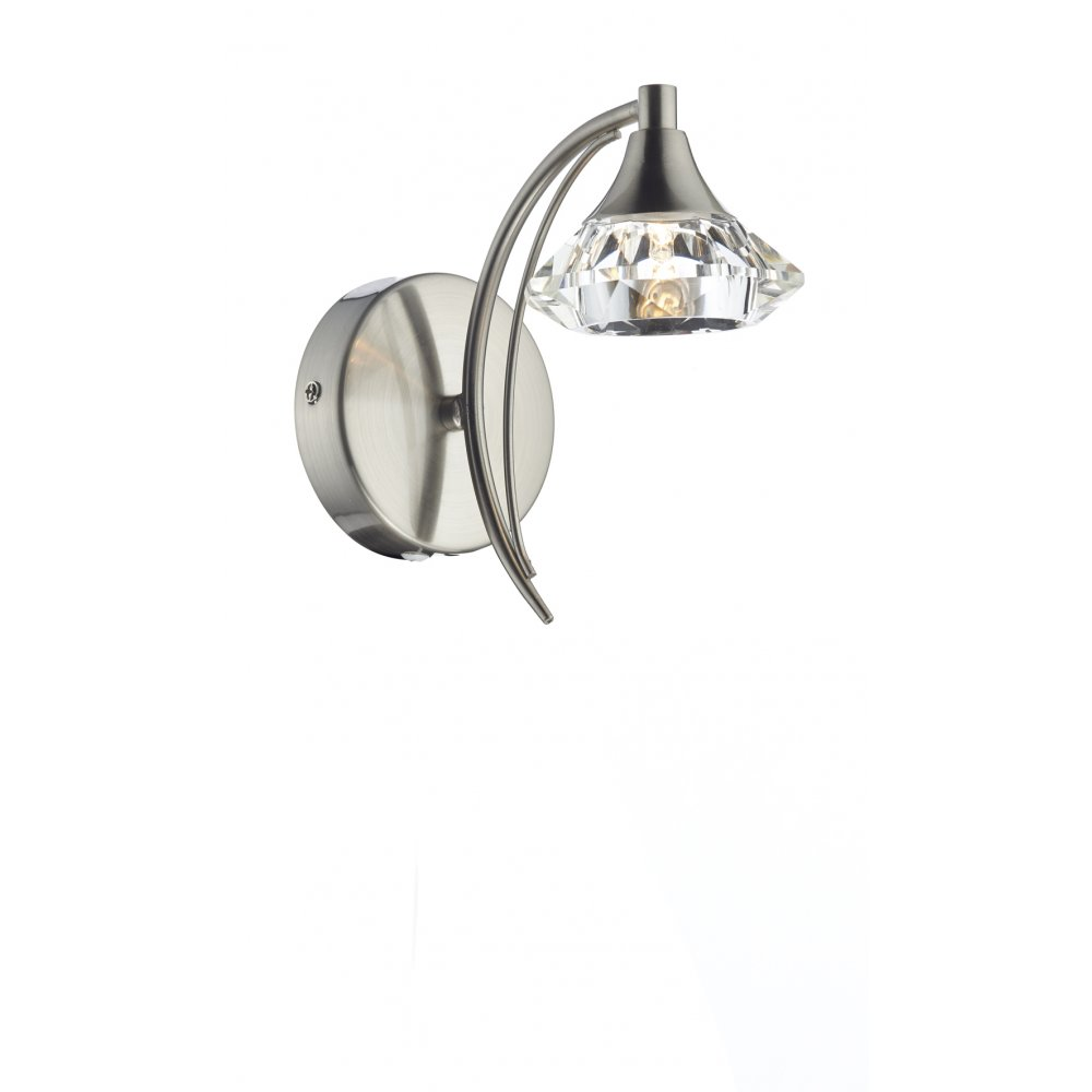 satin chrome ceiling lights photo - 5