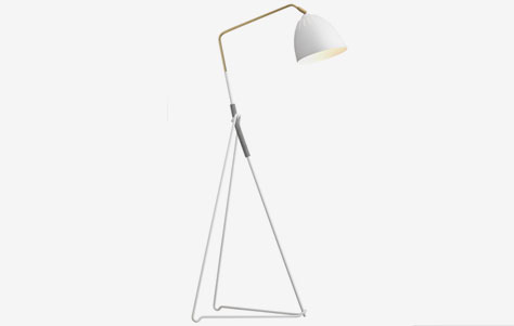 scandinavian floor lamp photo - 1